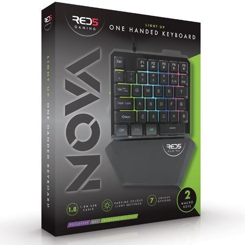 One Hand Gaming Keyboard