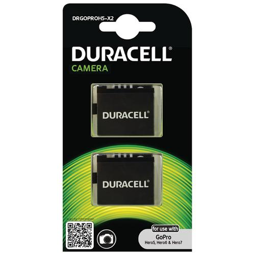 Duracell GoPro Hero 5/6/7 Rechargeable Battery - 2 Pack