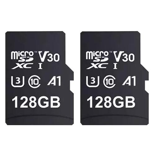 MyMemory 128GB V30 PRO Micro SD Card (SDXC) A1 UHS-1 U3 + Adapter - 100MB/s - 2 Pack