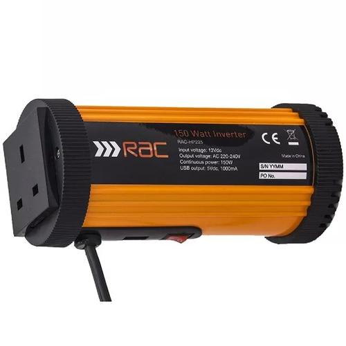 RAC 150W Car Power Inverter with USB and AC Sockets