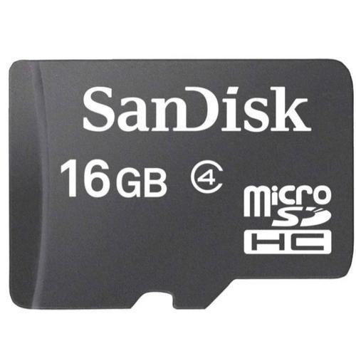 SanDisk 16GB Micro SD Card (SDHC)