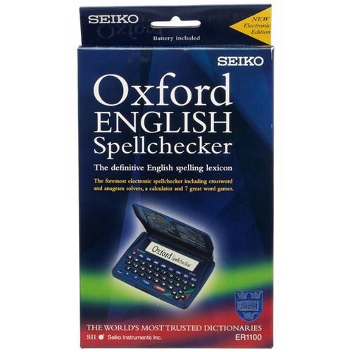 Seiko Oxford English Spellchecker