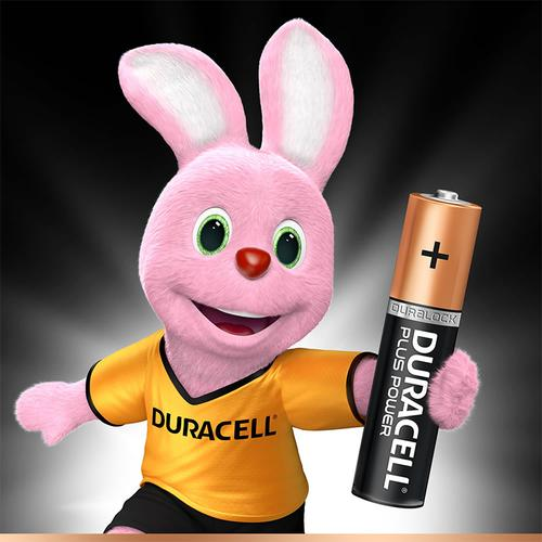Duracell Plus Power Size AAA Batteries Alkaline 1.5v - 4 Pack