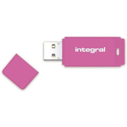 Integral 16GB Neon USB Flash Drives - 12Mb/s - 5 Pack FFP