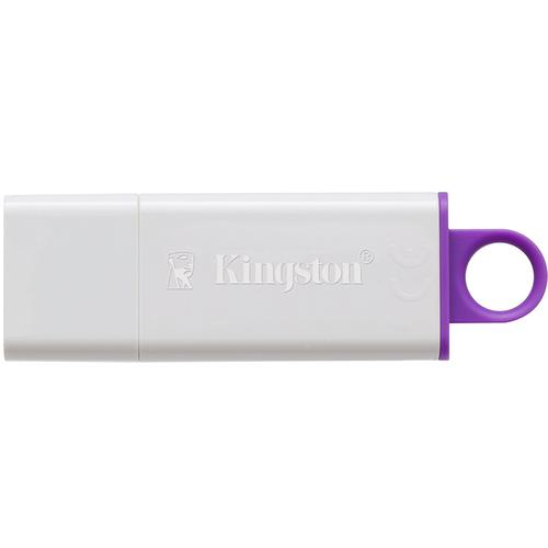 Kingston 64GB DataTraveler G4 USB 3.0 Flash Drive - Purple