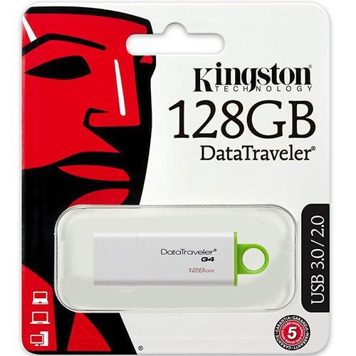 Kingston 128GB DataTraveler G4 3.0 USB Stick - Grün
