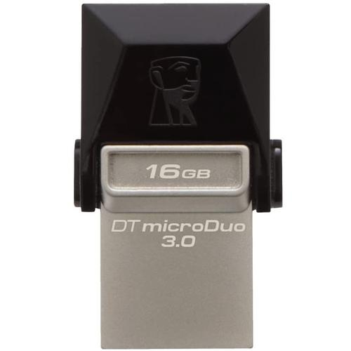 Kingston 16GB DataTraveler Micro Duo OTG USB 3.0 / Micro USB Flash Drive - 70MB/s