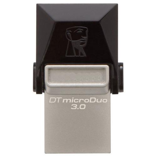 Kingston 64GB DataTraveler Micro Duo OTG USB 3.0 / Micro USB Flash Drive - 70MB/s