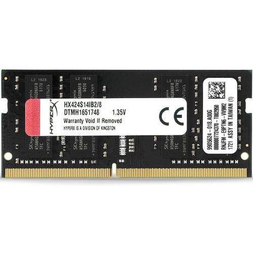 HyperX IMPACT 8GB 2400MHz DDR4 260-Pin CL14 SODIMM Laptop Memory Module