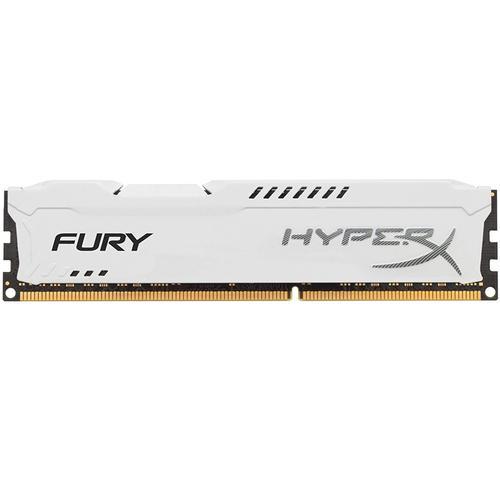 HyperX FURY 4GB (1x4GB) 1866MHz DDR3 240-Pin CL10 DIMM PC Memory Module - White