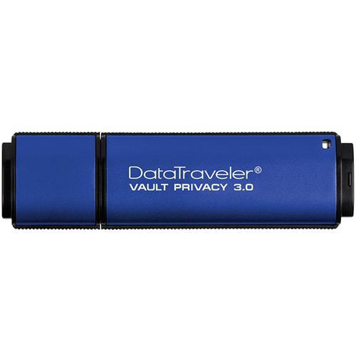 Kingston 8GB DTVP30 Encrypted USB Flash Drive - 165Mb/s