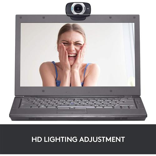 Logitech C615 HD 1080p Webcam - Black