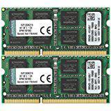 Kingston ValueRAM 16GB (2x8GB) 1333MHz DDR3 Non-ECC 204-Pin CL9 SODIMM Laptop Memory Module
