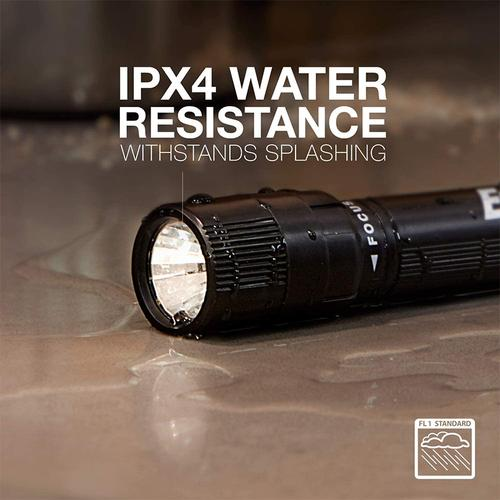 Energizer X-Focus LED Torch + 2xAA - Black