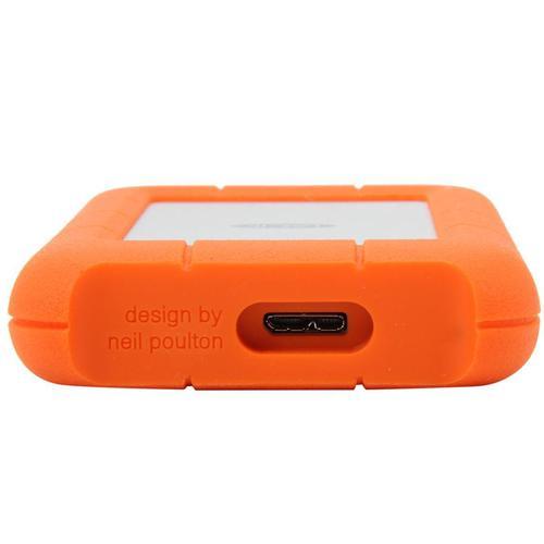 Lacie 2TB HDD Rugged Mini External HDD USB 3.0 - 130MB/s
