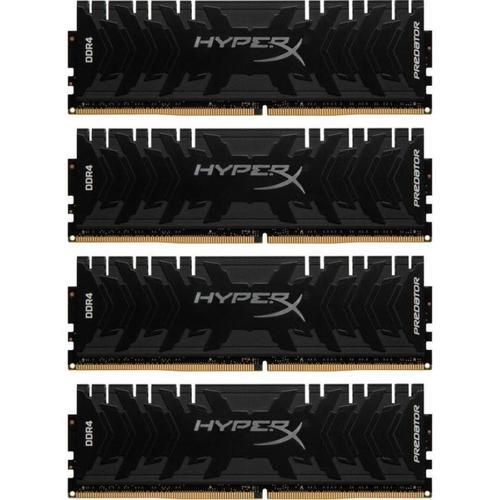HyperX Predator 32GB (4x8GB) 3000MHz DDR4 Non-ECC 288-Pin CL15 DIMM PC Memory Module