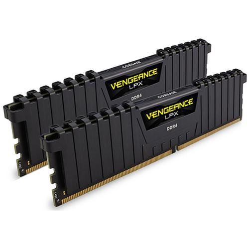 Corsair Vengeance LPX 16GB (2x8GB) 3000MHz DDR4 Non-ECC 288-Pin CL15 DIMM PC Memory Module - Black