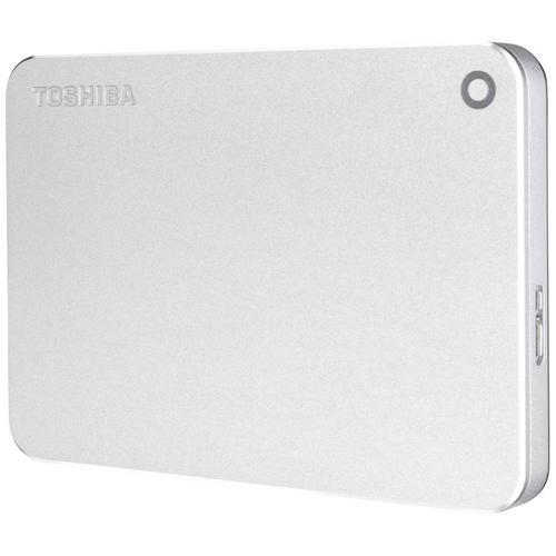 "Toshiba 1TB HDD Portable Canvio Premium MAC Edition 2.5"" External HDD USB 3.0 Metallic Silver"