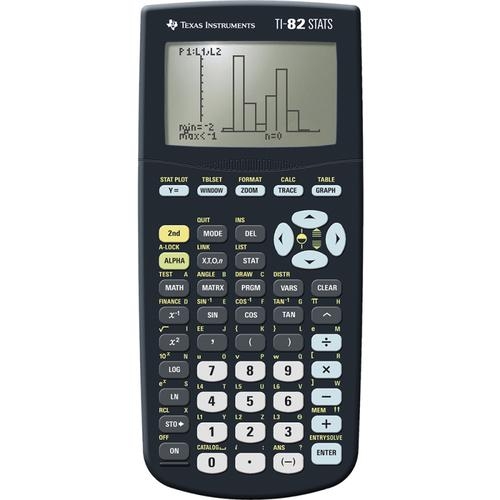 Texas Instruments TI82 STATS Graphic Calculator for Maths and Science