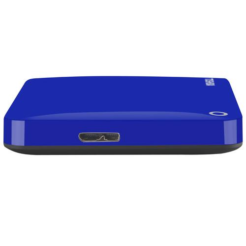 Toshiba 1TB HDD Canvio Connect II Portable HDD USB 3.0 - 5Gb/s - Blue