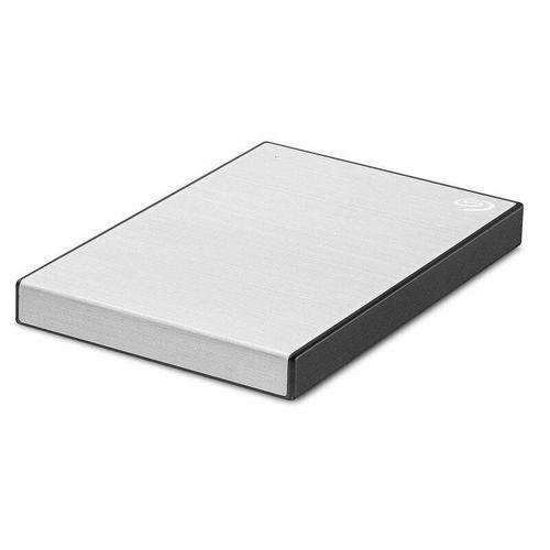 Seagate 2TB Backup Plus Slim USB 3.0 Portable HDD (Silver)