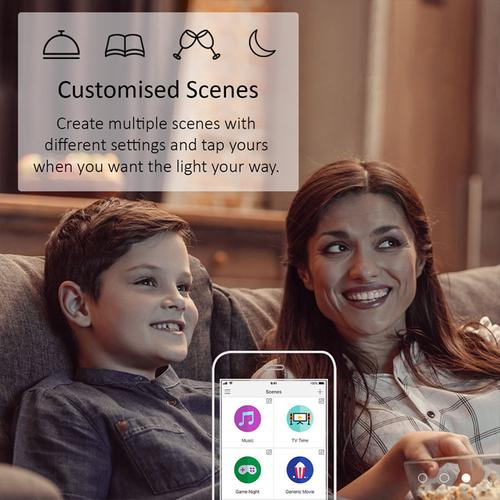 TP-Link Kasa Smart Wi-Fi Bulb Dimmable White 10W B22 2700K