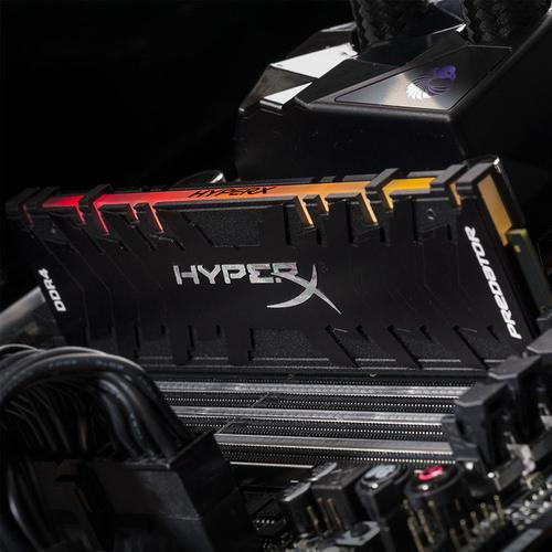 HyperX Predator RGB 16GB (2x8GB) 3200MHz DDR4 Non-ECC 288-Pin CL16 DIMM PC Memory