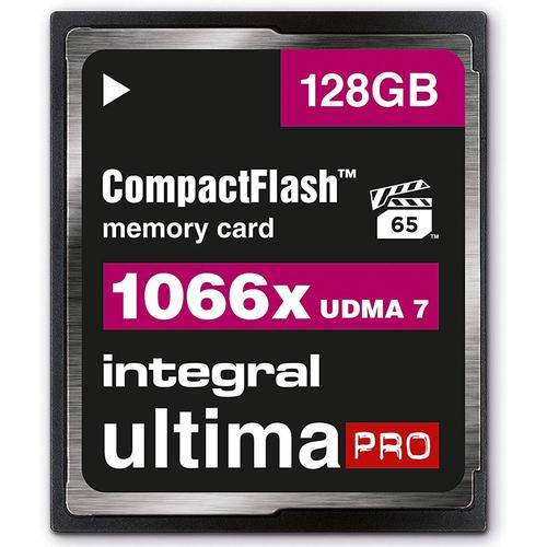 Integral 128GB 1066X Ultima PRO Compact Flash Card VPG-65 UDMA-7 - 160MB/s