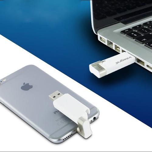 Integral 128GB iShuttle iPhone-iPod USB 3.0 Flash Drive - 60MB/s