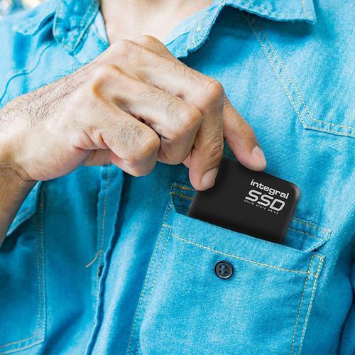 Integral 480GB USB 3.0 Portable SSD Drive - 400MB/s