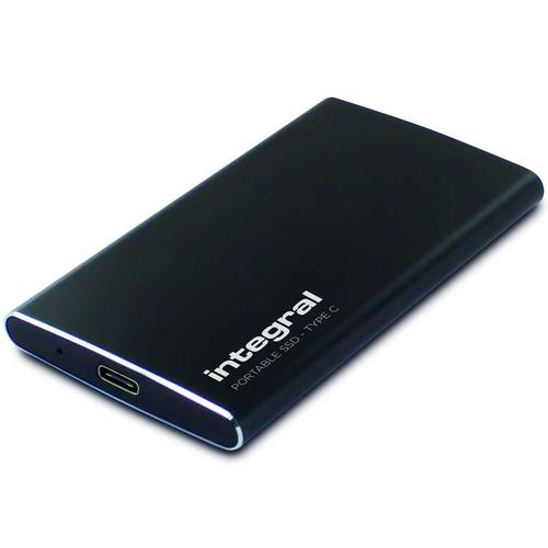 Integral 960GB USB3.1 Type-C and Type-A Portable SSD - 500MB/s