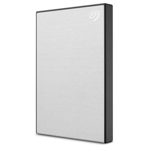 Seagate 1TB Backup Plus Slim USB 3.0 Portable Hard Drive External (Silver) - 540MB/s