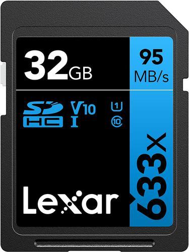 Lexar 32GB Professional SD Card (SDHC) - 95MB/s