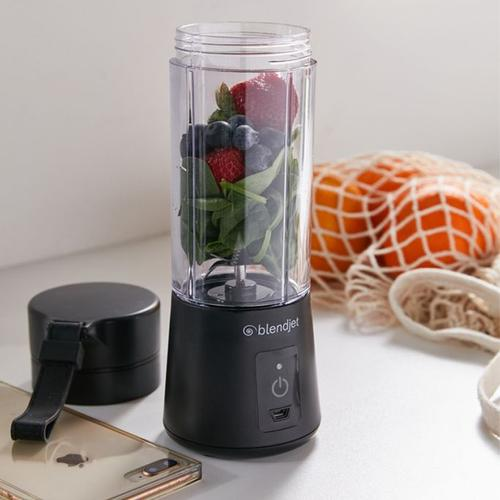 BlendJet One Portable Blender Smoothie Maker Shaker 340ml - Black