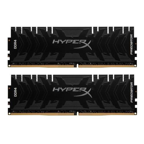 HyperX Predator 32GB (2x16GB) Memory Kit PC4-21300 2666MHz DDR4 CL13 288-Pin DIMM 1.35V