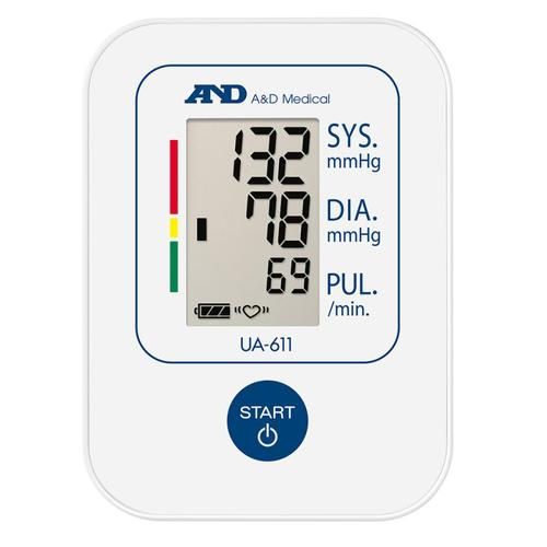 A&D Upper Arm Blood Pressure Monitor (UA611)