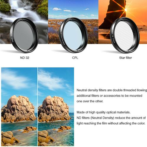 Apexel 7-in-1 Full Colour Filters Kit for Smartphones Camera
