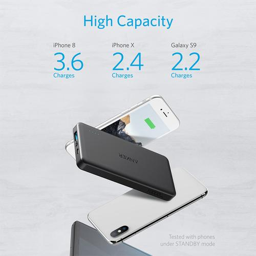 Anker PowerCore II Slim 10000mAh Portable Power Bank