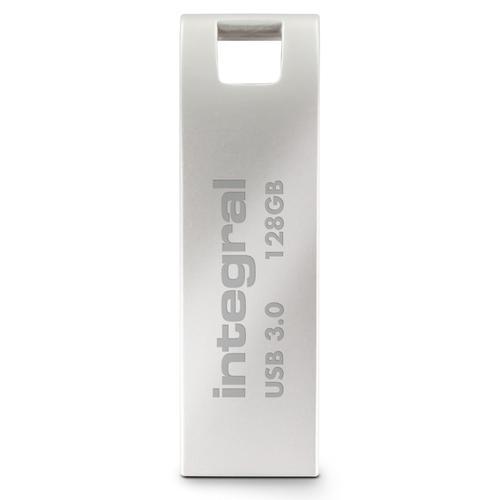 Integral 128GB Metal ARC USB 3.0 Flash Drive - 180MB/s