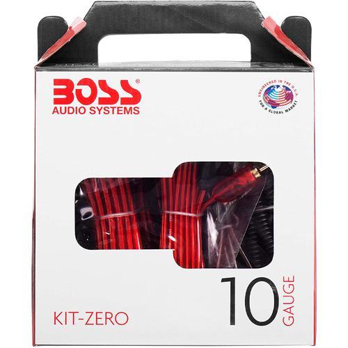 BOSS KITZERO Complete 10 Gauge Audio Amplifier Installation Kit