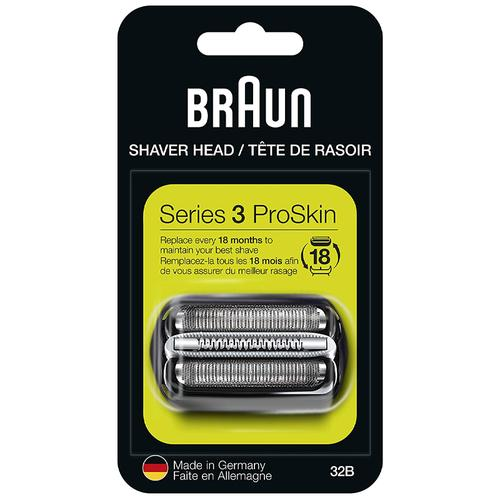 Braun Series 3 Electric Shaver Replacement Foil Cartridge 32B 32S