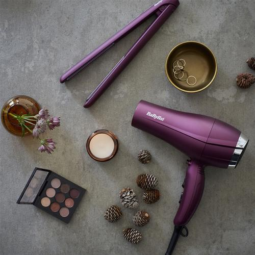 BaByliss 2300W Ceramic Hair Dryer (5513U) - Velvet Orchid