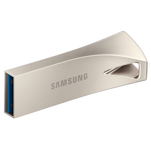 Samsung 256GB Bar Plus USB 3.1 Flash Drive 300Mb/s - Champagne Silver
