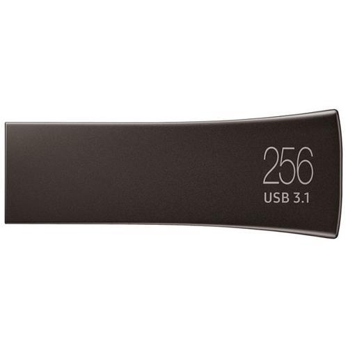 Samsung 256GB Bar Plus USB 3.1 Flash Drive 300Mb/s - Titan Grey