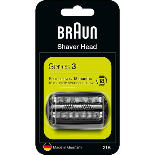 Braun Combi 21B Series 3 Replacement Cassette Foil & Cutter Pack