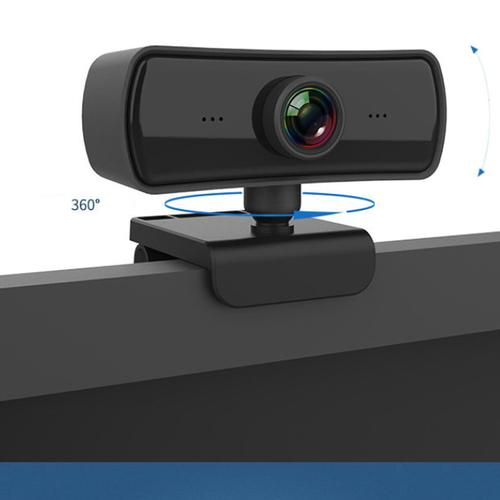 Conference Full HD 1080P Web Cam with Microphone and 360 Clip