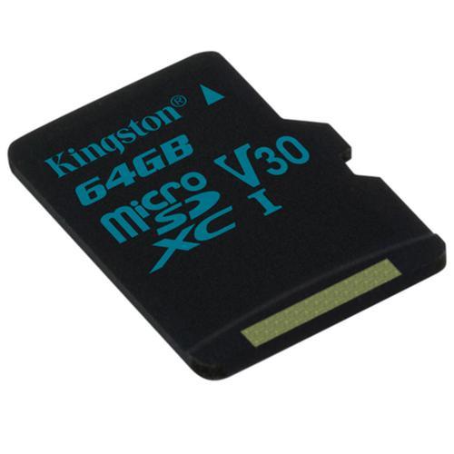 Kingston 64GB Canvas Go Micro SD Card (SDXC) UHS-I U3 V30 - 90MB/s