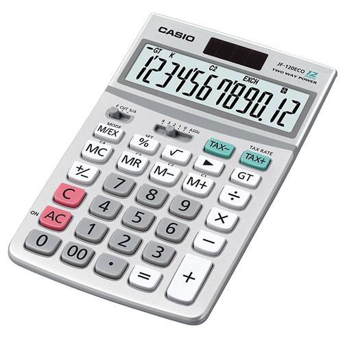 Casio ECO Desktop 12 Digit Display Calculator