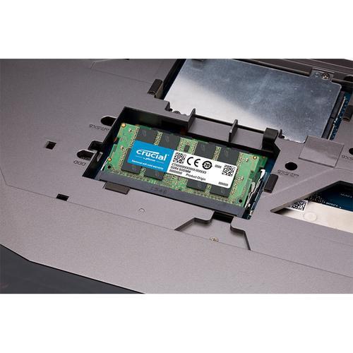 Crucial 16GB (2x8GB) DDR3 1600MHz 204-Pin CL11 SODIMM Laptop Memory Module