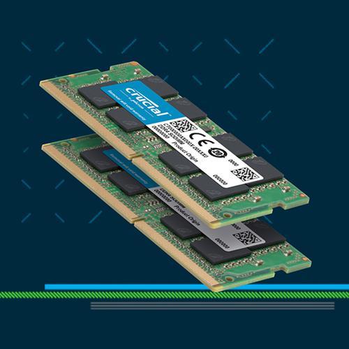 Crucial 4GB (1x4GB) 1600MHz DDR3 204-Pin Non-ECC CL11 SO-DIMM Laptop Memory Module